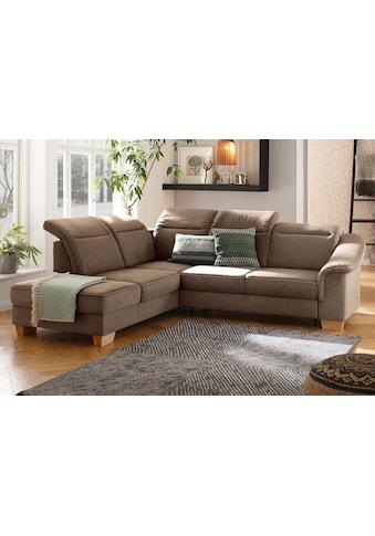 Premium collection by Home affaire Ecksofa »Empire«, Federkern, wahlweise auch mit... kaufen