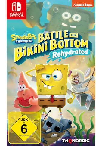 THQ Nordic Spiel »Spongebob SquarePants: Battle for Bikini Bottom«, Nintendo Switch kaufen