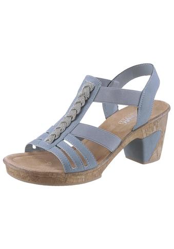 Rieker Sandalette, mit Schmuckapplikation kaufen