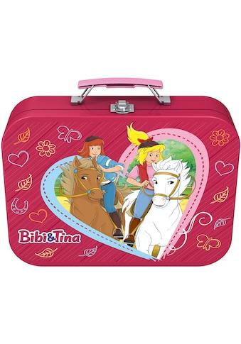 """Schmidt Spiele Puzzle """"Puzzlebox im Metallkoffer, Bibi + Tina"""" kaufen"""