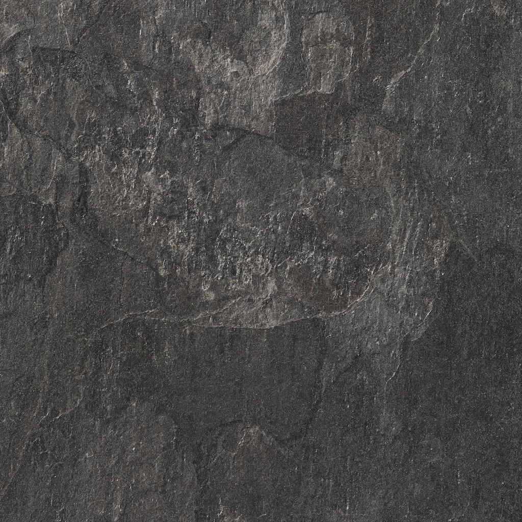 Bodenmeister Laminat »Fliesenoptik Schiefer dunkel-grau«, pflegeleicht, 60 x 30 cm Fliese, Stärke: 8 mm