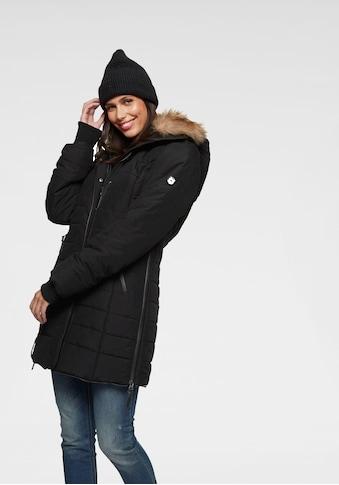 ALPENBLITZ Winterjacke »Bern«, zeitloser Steppmantel mit abnehmbarer Kapuze kaufen