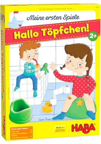 """Haba Spiel, """"Meine ersten Spiele  -  Hallo Töpfchen!"""" kaufen"""