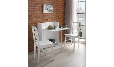 Home affaire Klapptisch »Dinant«, im Landhaus-Stil gehalten, platzsparend,... kaufen