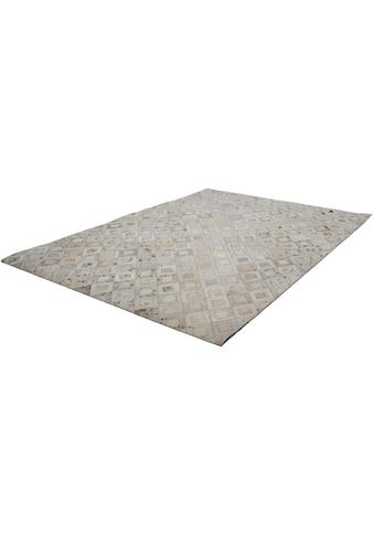 calo-deluxe Fellteppich »Scarllet 110«, rechteckig, 8 mm Höhe, echtes Rinderfell, Wohnzimmer kaufen