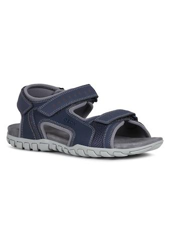 Geox Sandale »U Sandal Mito«, mit komfortablem Softfußbett aus Leder kaufen