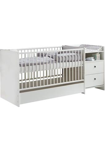 arthur berndt Babybett »Elly«, mit Wickelstation; Umbaubar zum Juniorbett, Spieltisch... kaufen