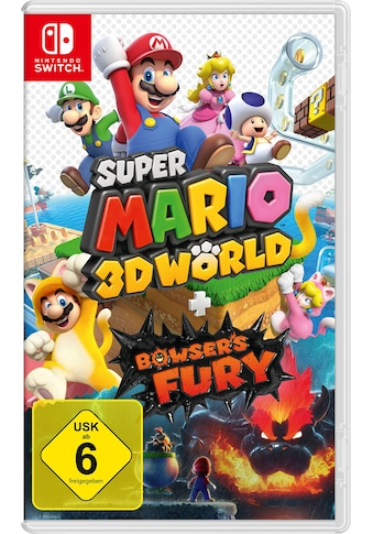 Nintendo Switch Spiel »Super Mario 3D World + Bowser's Fury«, Nintendo Switch kaufen