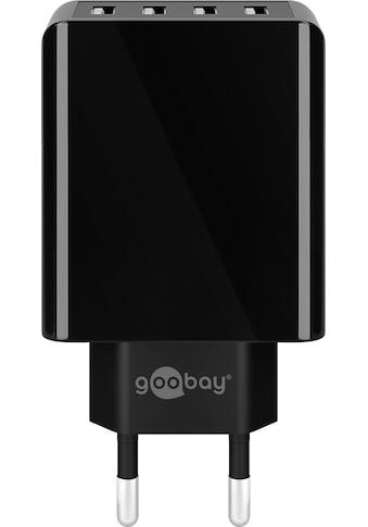 Goobay USB-Ladegerät »USB Charger, 30W Netzteil, Schwarz« kaufen