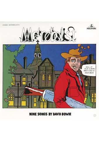 Musik-CD »Metrobolist(aka The Man Who Sold The World)2020Mix / Bowie,David« kaufen
