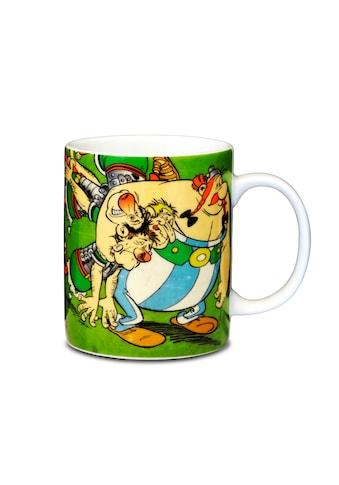 LOGOSHIRT Tasse mit tollem Helden - Print »Asterix & Obelix with Romans« kaufen