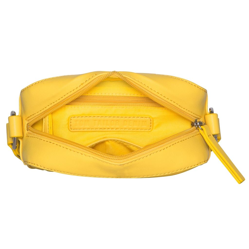 TOM TAILOR Denim Mini Bag »Ceria«, Mit modischem Textilumhängeriemen