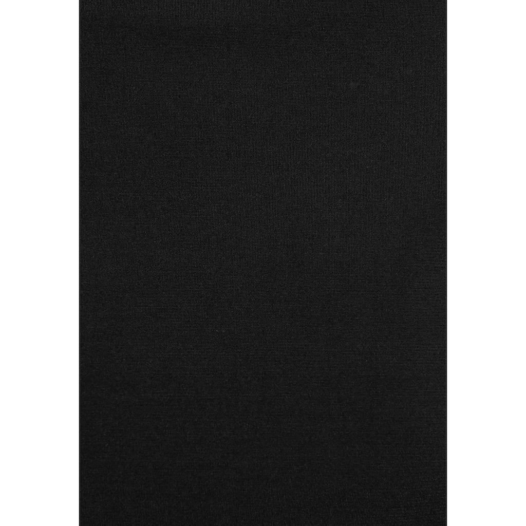 Melrose Langarmshirt, mit Strassdetail