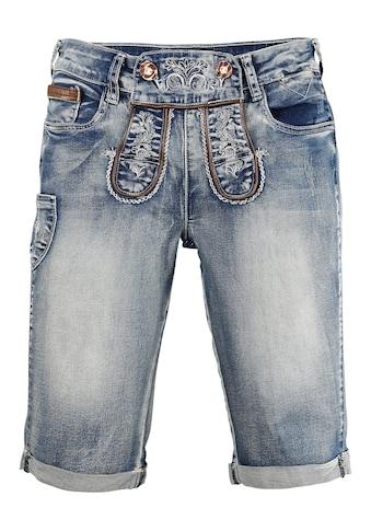 Marjo Trachtenbermuda Damen im Lederhosen - Style kaufen