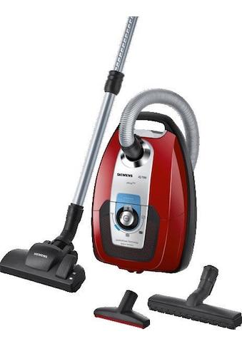 SIEMENS Bodenstaubsauger »VSC7AC342«, 650 W, mit Beutel, Hygienefilter ideal für... kaufen