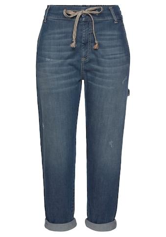 Please Jeans Jogg Pants »POQU«, mit leichten Destroyed-Effekten kaufen