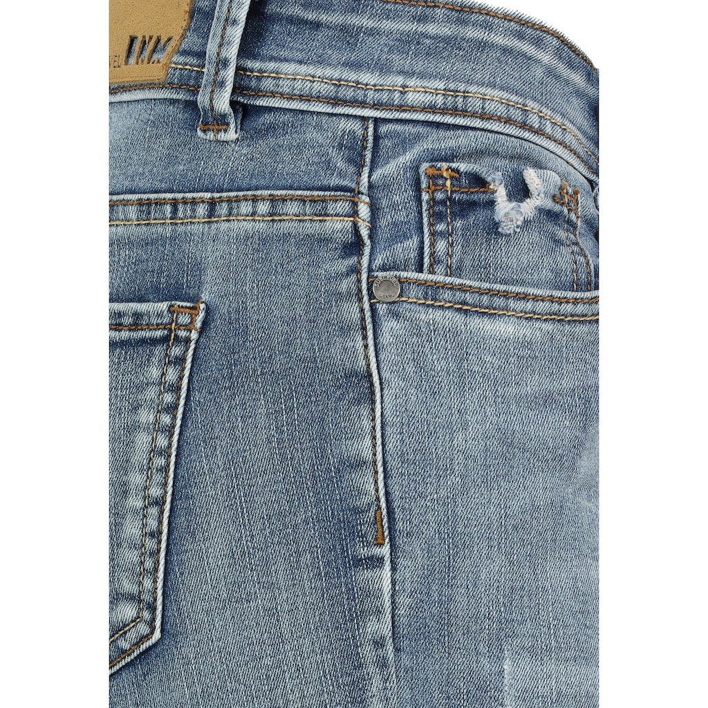 SUBLEVEL Skinny-fit-Jeans, im Used Look