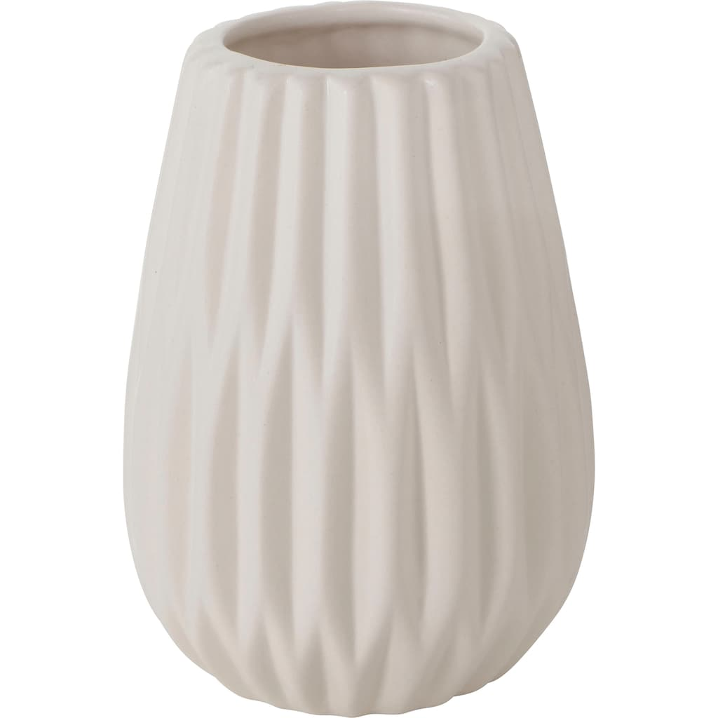 BOLTZE Tischvase »Wilma«, aus Keramik