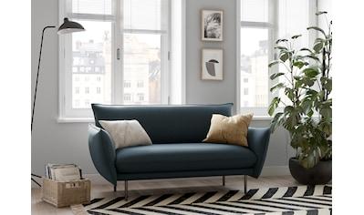 andas 2-Sitzer »Stine«, Besonderes Design durch Kissenoptik und Keder, Design by... kaufen
