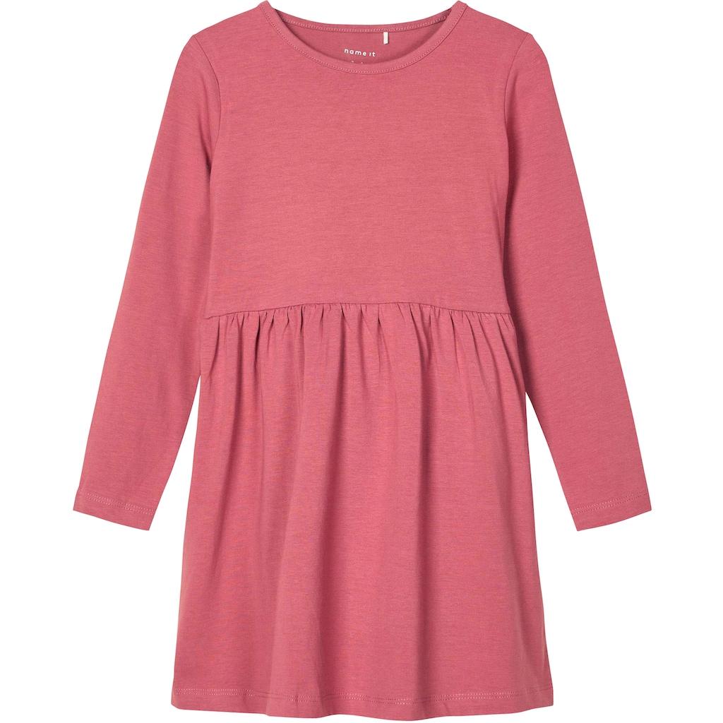 Name It Jerseykleid »NMFRONLA LS DRESS 3P«, (Packung)