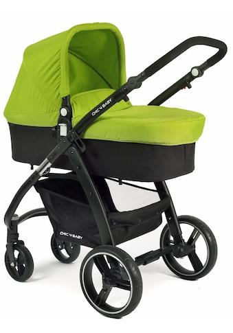 CHIC4BABY Kombi-Kinderwagen »Volare, grün-schwarz«, inklusive Sportsitz kaufen