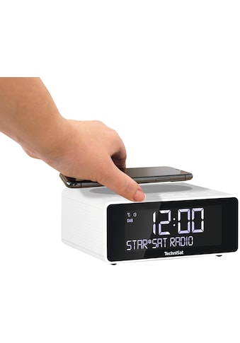 TechniSat Radiowecker »DIGITRADIO 52 Stereo«, ( Digitalradio (DAB+)-UKW mit RDS ), mit DAB+, Snooze-Funktion, dimmbares Display, Sleeptimer, Wireless Charging kaufen