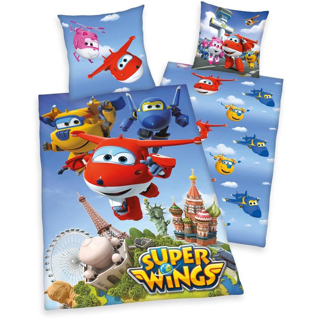 Kinderbettwäsche »Super Wings«, mit Motiv