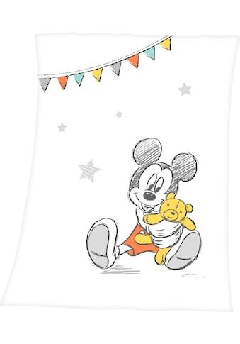 Babydecke »Disney´s Mickey Mouse«, Walt Disney kaufen