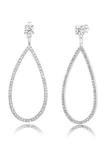 Elli Paar Ohrhänger »Hänger Kristalle Funkelnd 925 Silber« kaufen
