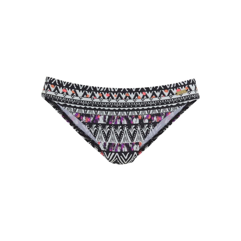 LASCANA Bikini-Hose »Belize«, im Ethno-Design
