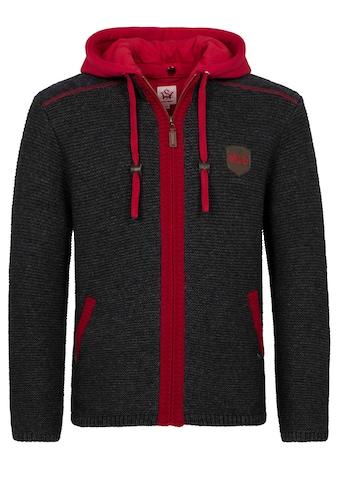 Spieth & Wensky FC Bayern Strickjacke Dakar mit Sweater-Kapuze kaufen