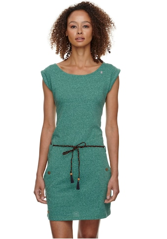 Ragwear Jerseykleid »TAG«, (2 tlg., mit abnehmbarem Gürtel), in melierter Optik kaufen