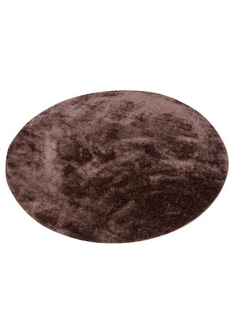 my home Hochflor-Teppich »Mikro Soft Ideal«, rund, 30 mm Höhe, Besonders weich durch... kaufen