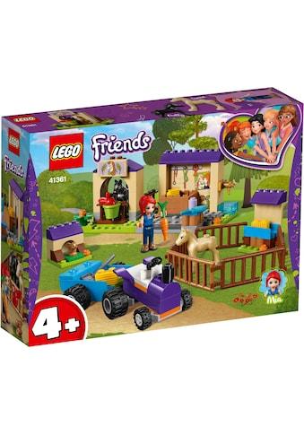 """LEGO® Konstruktionsspielsteine """"Mias Fohlenstall (41361), LEGO® Friends"""", Kunststoff, (118 - tlg.) kaufen"""