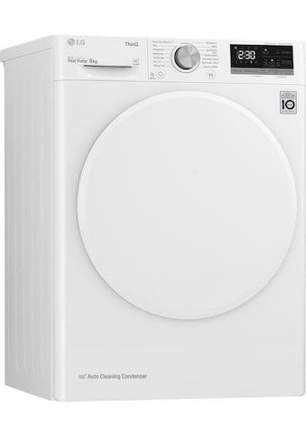 LG Wärmepumpentrockner »V3RT8« kaufen