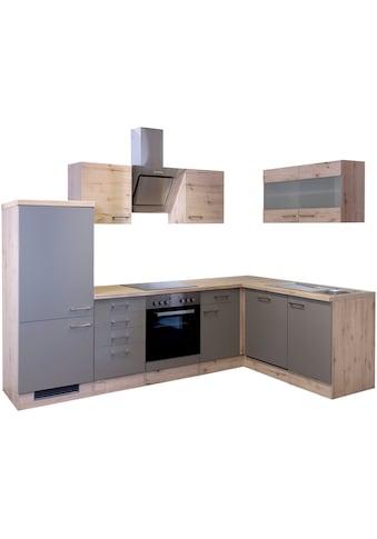 Flex-Well Winkelküche »Riva«, mit E-Geräten, 280 x 170 cm kaufen