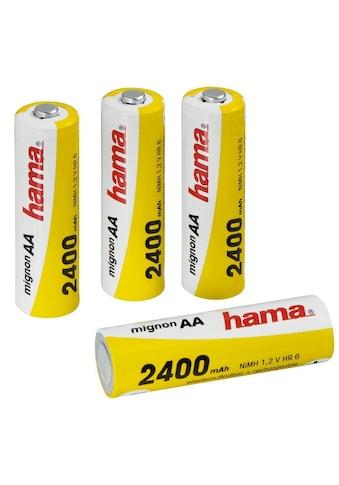 Hama NiMH-Akkus Ready4Power, 4x AA (Mignon - HR 6) 2400 mAh kaufen
