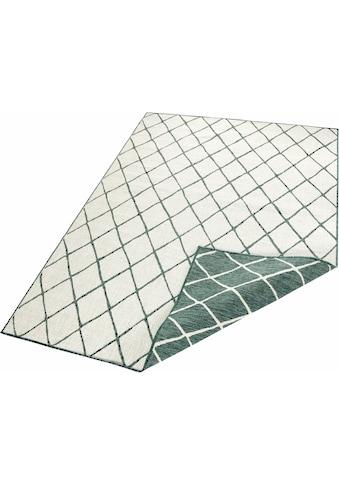 bougari Teppich »Malaga«, rechteckig, 5 mm Höhe, In- und Outdoor geeignet, Wendeteppich, Wohnzimmer kaufen