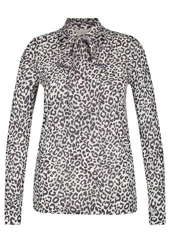 VIA APPIA Aufregende Bluse mit Schluppe Plus Size kaufen