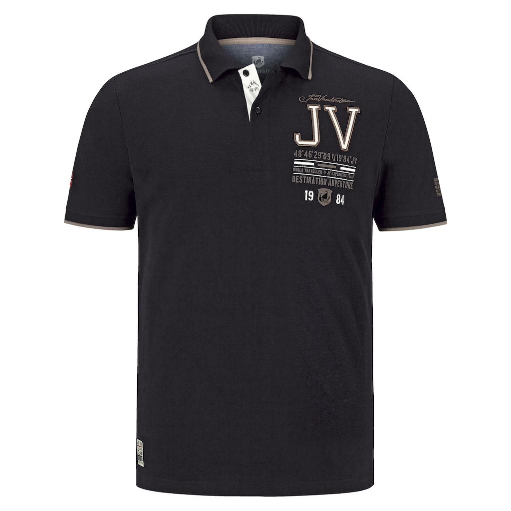 Jan Vanderstorm Poloshirt »VINNAN«, mit modischen Akzenten
