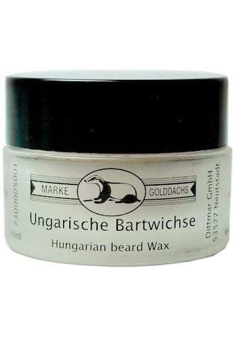 """Golddachs Bartwachs """"Ungarische Bartwichse"""" kaufen"""