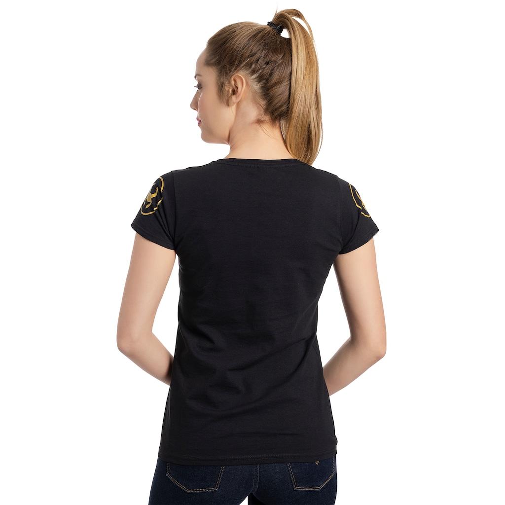 MARVEL T-Shirt »Marvel Loki Always Gold«