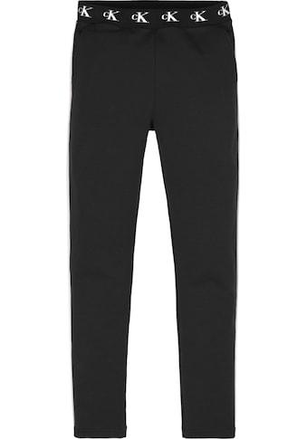 Calvin Klein Jeans Sweathose »MONOGRAM STR SLIM« kaufen