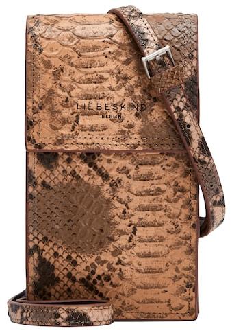 Liebeskind Berlin Handytasche »Valentine's Special Snake Mobile Pouch«, in modischer Reptil Optik kaufen