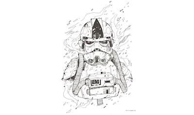 Komar Wandbild »Star Wars Pilot Drawing« kaufen