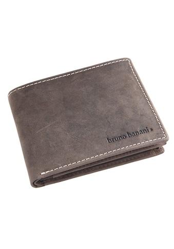 Bruno Banani Geldbörse, aus Leder mit Ziernähten kaufen
