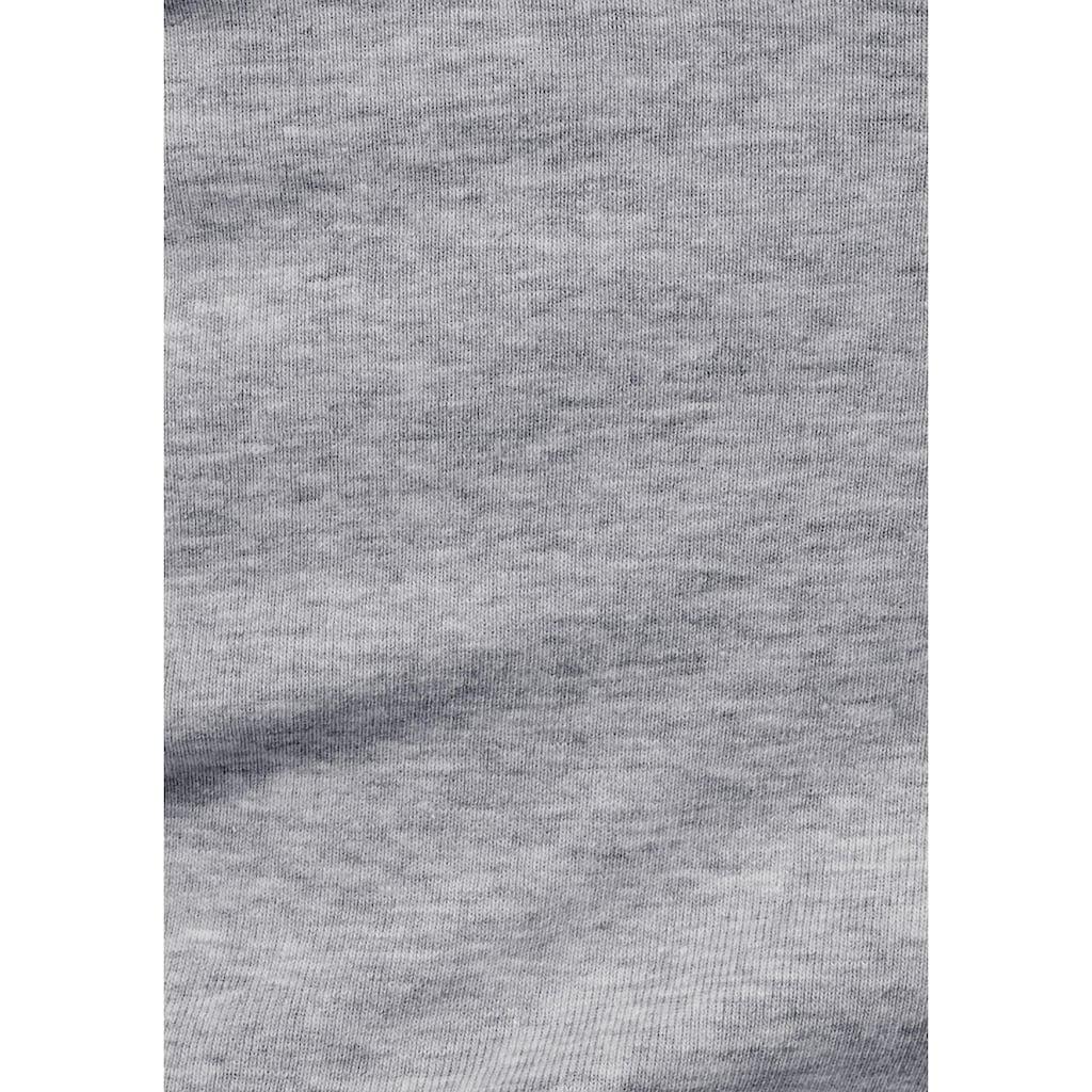 Flashlights V-Shirt, mit 3/4 Ärmel