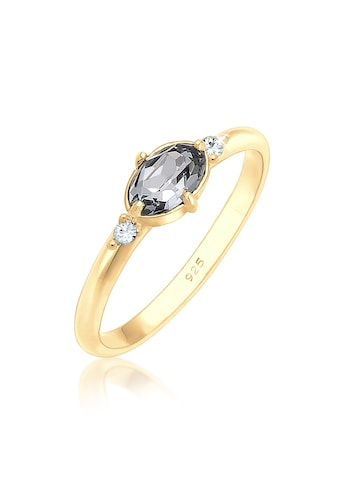 Elli Fingerring »Bandring Kristalle 925 Silber« kaufen