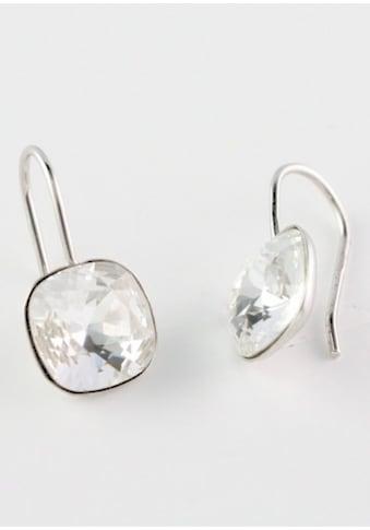 Firetti Paar Ohrhaken »quadratisch«, mit Swarovski-Kristallen kaufen