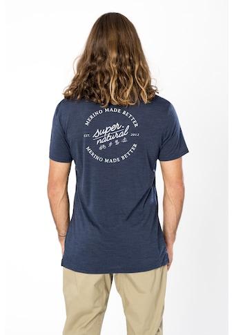 SUPER.NATURAL T-Shirt »M MADE BETTER TEE«, atmungsaktiver Merino-Materialmix kaufen